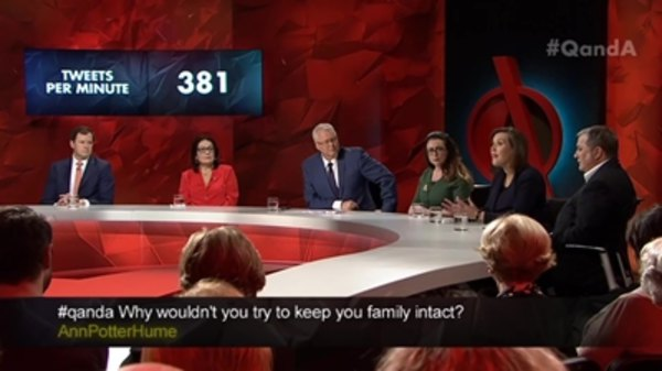 Q&A - S2015E10 - Political Tensions and Children in Detention
