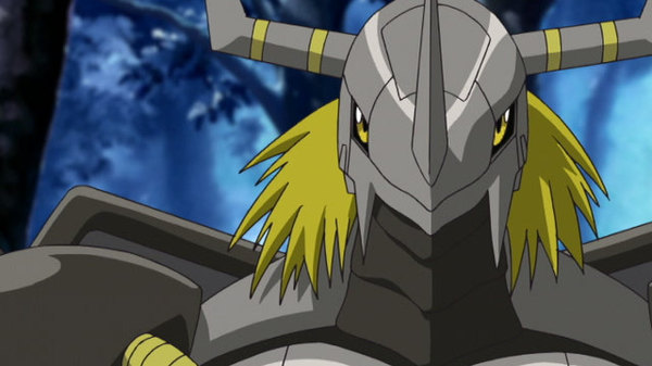 Digimon Adventure 02 - Ep. 46 - BlackWarGreymon vs. WarGreymon