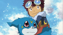 Digimon Adventure 02 - Episode 22 - The Courageous Digivolution! Ex-Veemon