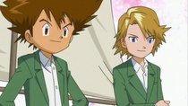 Digimon Adventure 02 - Episode 11 - Raidramon, the Blue Thunder