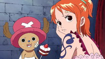 One Piece - Episode 378 - A Promise from a Distant Day! The Pirates' Song and a Small Whale!