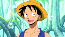 One Piece - Episode 390 - Landing on the Way to Fishman Island! The Sabaody Archipelago!