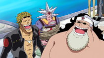 One Piece - Episode 387 - The Fated Reunion! Save the Imprisoned Fishman!
