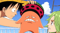 One Piece - Episode 386 - Hatred for the Straw Hats! Iron Mask Duval Appears!