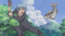 Hayate no Gotoku! - Episode 22 - Who Came Up With the Onomatopoeia Kapo~n? It's Amazing