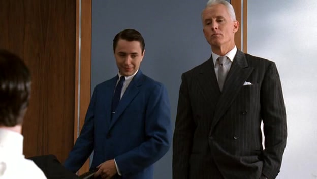 analysis of the mad men opening Maybe even mad men deserve a happy ending in a new video posted on amc's site, mad men creator and executive producer matt weiner offered more explanation of his iconic show's series finale.