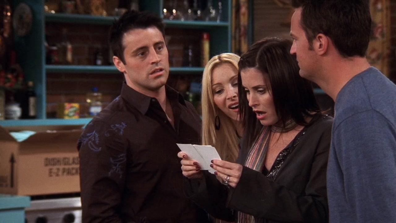 Chandler Friends Season 10 Golfclub