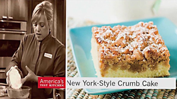 Blueberry Crumb Cake America S Test Kitchen