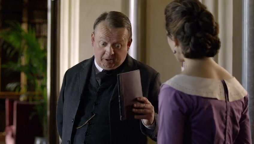 coke and popcorn downton abbey season 1 episode 7