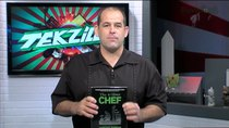 Tekzilla - Episode 381 - 7 iPhone Photo Lenses! The 4-Hour CHEF Teaches Knife Skills....