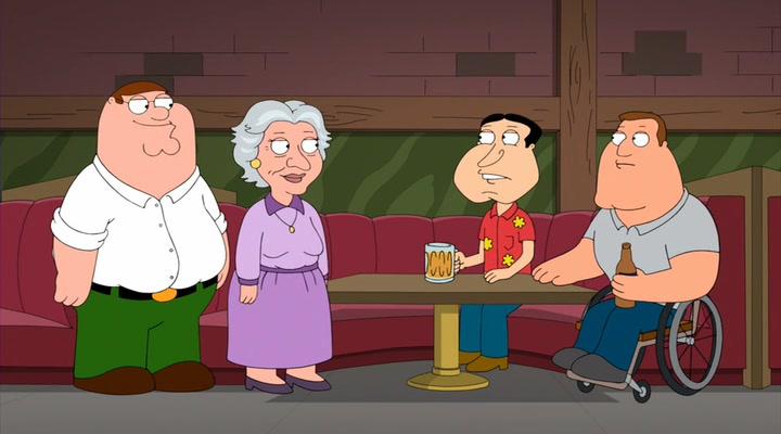 Family Guy Season 7 Episode 3 Begins Crossedga