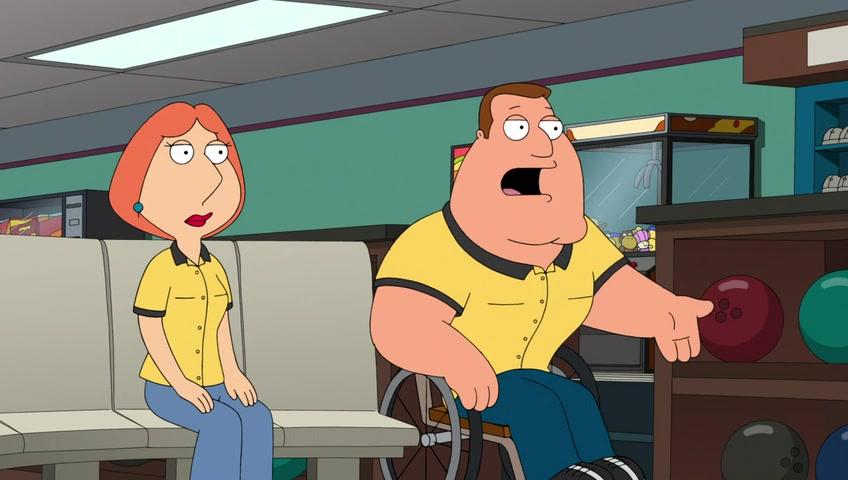 Screencaps of Family Guy Season 11 Episode 18