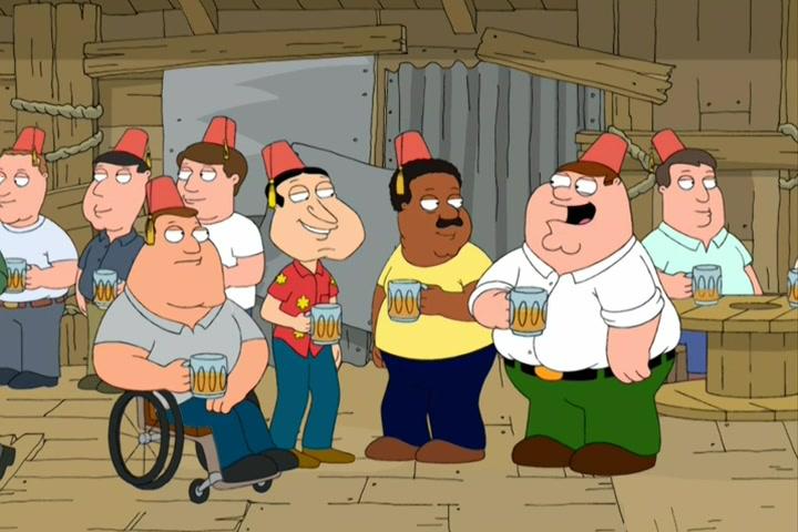 Family guy season 7 episode 3 \ BEGINS-CROSSED GA