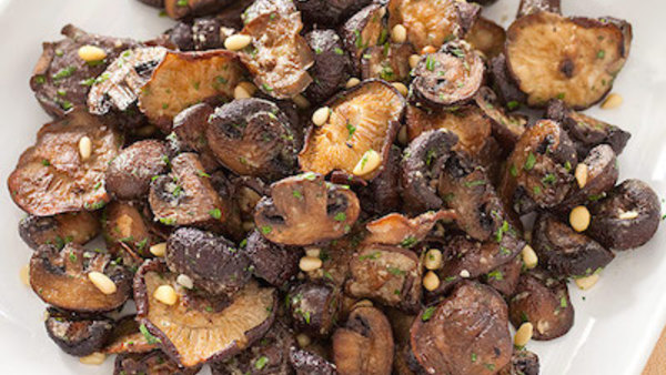 America S Test Kitchen Saucing Up Chicken And Roasting Mushrooms