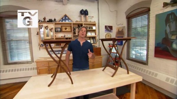 Rough Cut with Fine Woodworking - S06E06 - TV Tray with Jesse Shaw