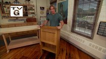 Rough Cut with Fine Woodworking - Episode 11 - Fall Front Desk with Steve Brown