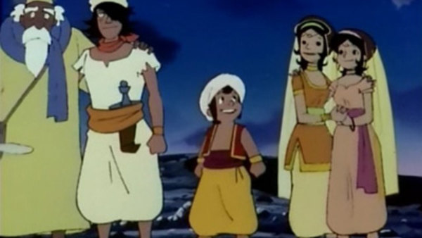 Arabian Nights: Sindbad no Bouken - Ep. 49 - Princess Shera in peril