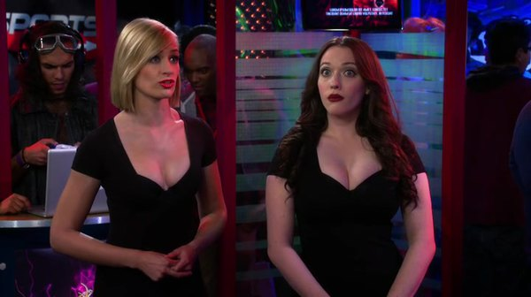 2 Broke Girls - S05E11 - And the Booth Babes