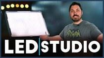 Film Riot - Episode 610 - Studio Tour & Affordable LED Lights