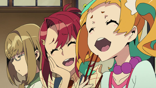 Kiznaiver - Ep. 5 - Wahoo, It's a Training Camp! Let's Step in Deer Poop and Have Pillow Fights! Go, Go!