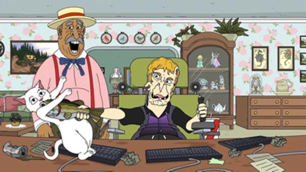 472244468e5cf61c7_w mr pickles season 2 episode 4,Mr Pickles Meme