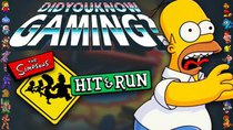 Did You Know Gaming? - Episode 141 - The Simpsons Hit & Run