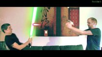 Film Riot - Episode 1 - Star Trek vs. Star Wars! The Great Lightsaber - Phaser Battle