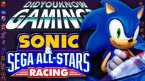 Did You Know Gaming? - Episode 192 - Sonic & Sega All-Stars Racing
