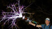 Smarter Every Day - Episode 162 - Handheld TESLA COIL GUN at 28,000fps