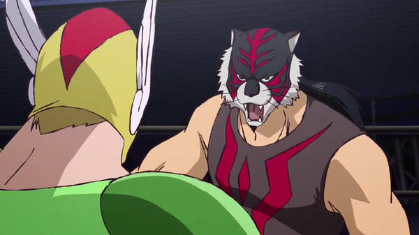 Tiger Mask W - Ep. 9 - The Stormy Opening Match