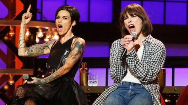 Ruby Rose Joins Milla Jovovich Family At Resident Evil: Lip Sync Battle Season 3 Episode 10