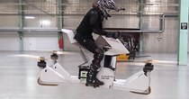 Futurism - Episode 340 - Watch the World's First Rideable Hoverbike in Flight