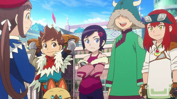 Monster Hunter Stories Ride On Season 1 Episode 21