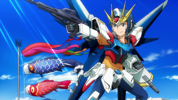 Gundam Build Fighters - Ep. 11 - Battle Royal