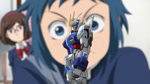 Gundam Build Fighters - Ep. 5 - The Strongest Builder