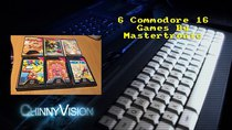 ChinnyVision - Episode 131 - Six Commodore-16 Games By Mastertronic