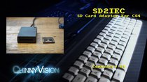 ChinnyVision - Episode 133 - SD2IEC SD Card Adaptor For The C64