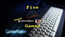 ChinnyVision - Episode 168 - Five Mastertronic Games For The Unexpanded Commodore VIC 20