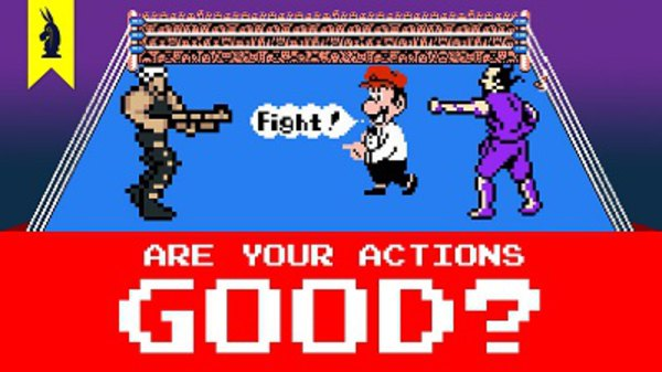 8-Bit Philosophy - S01E15 - Are Your Actions Good? (Kant vs. Mill)