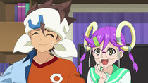 Future Card Buddyfight Batzz - Episode 29 - Invasion of Papa Panda! Farewell, Chibi Panda!