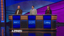 Jeopardy! - Episode 31 - Marty Cunningham, Dom Granello, Lindsey Piesz