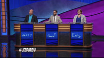 Jeopardy! - Episode 32 - Marty Cunningham, Frank Lang, Emily Deckenback