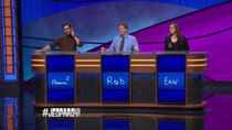 Jeopardy! - Episode 33 - Frank Lang, Rob Worman, Erin Matherne