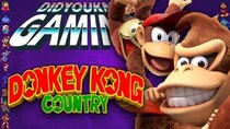 Did You Know Gaming? - Episode 262 - Donkey Kong Country Tropical Freeze + Returns (Nintendo Switch)