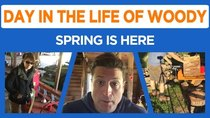 Day in the Life of Woody - Episode 3 - Sunday Stable Update, New Splitter, Plumbing, Mowing