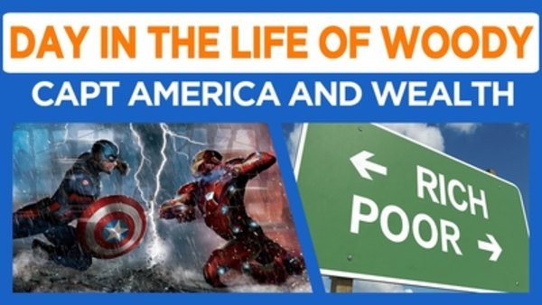 Day in the Life of Woody - S2016E27 - I like Wealth Inequality (we see Capt America too)