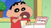 Crayon Shin-chan - Episode 969 - The Nohara Family Pudding Wars / A Defense Squad Meeting