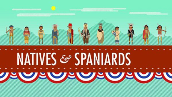 Crash Course US History - S01E01 - The Black Legend, Native Americans, and Spaniards