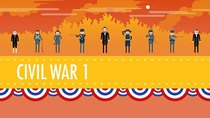Crash Course US History - Episode 20 -  The Civil War, Part I