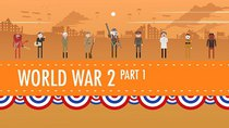 Crash Course US History - Episode 35 -  World War II Part 1